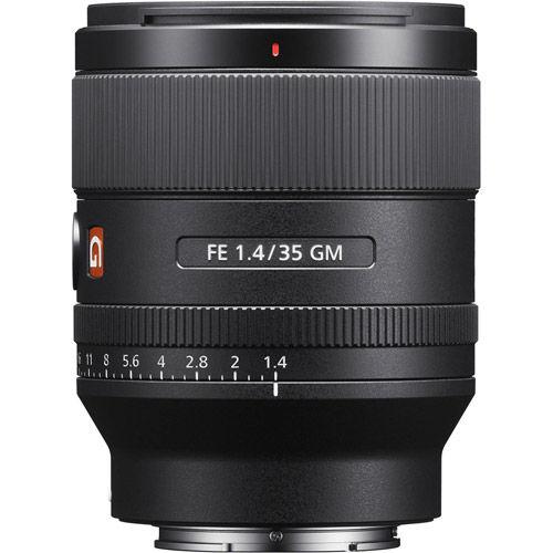 SEL FE 35mm f/1.4 GM E-Mount Lens