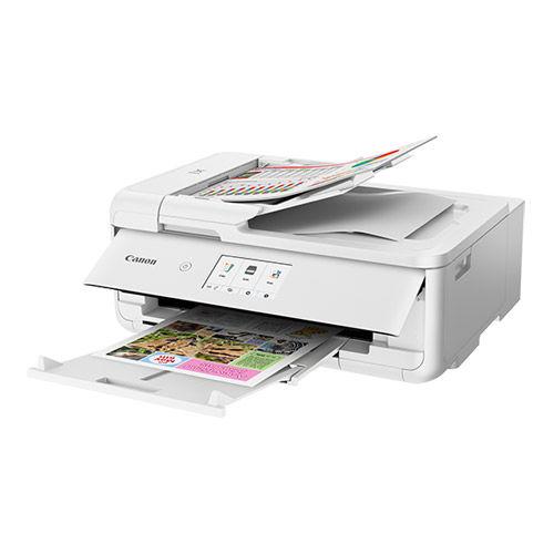 Pixma TS9521C Wireless All-In-One Craft Printer - White