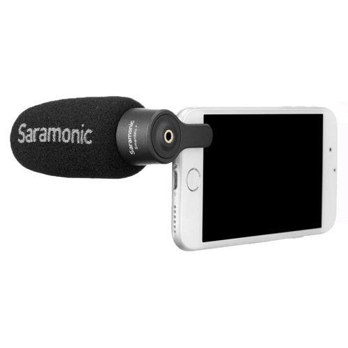 Lightweight Smartphone Mic with 3.5mm Output Connector
