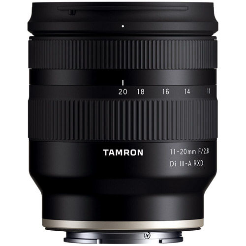 11-20mm f/2.8 Di III-A RXD Lens for E-Mount