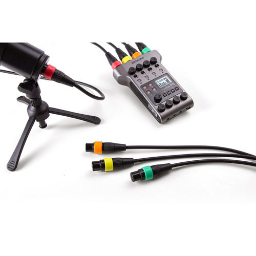 XLR Microphone Cables with Color ID Rings