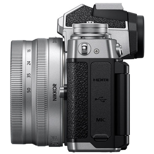 Zfc Mirrorless Kit w/ Z DX 16-50mm f/3.5-6.3 VR Silver Lens