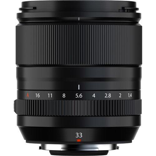 Fujinon XF 33mm f/1.4 R LM WR Lens