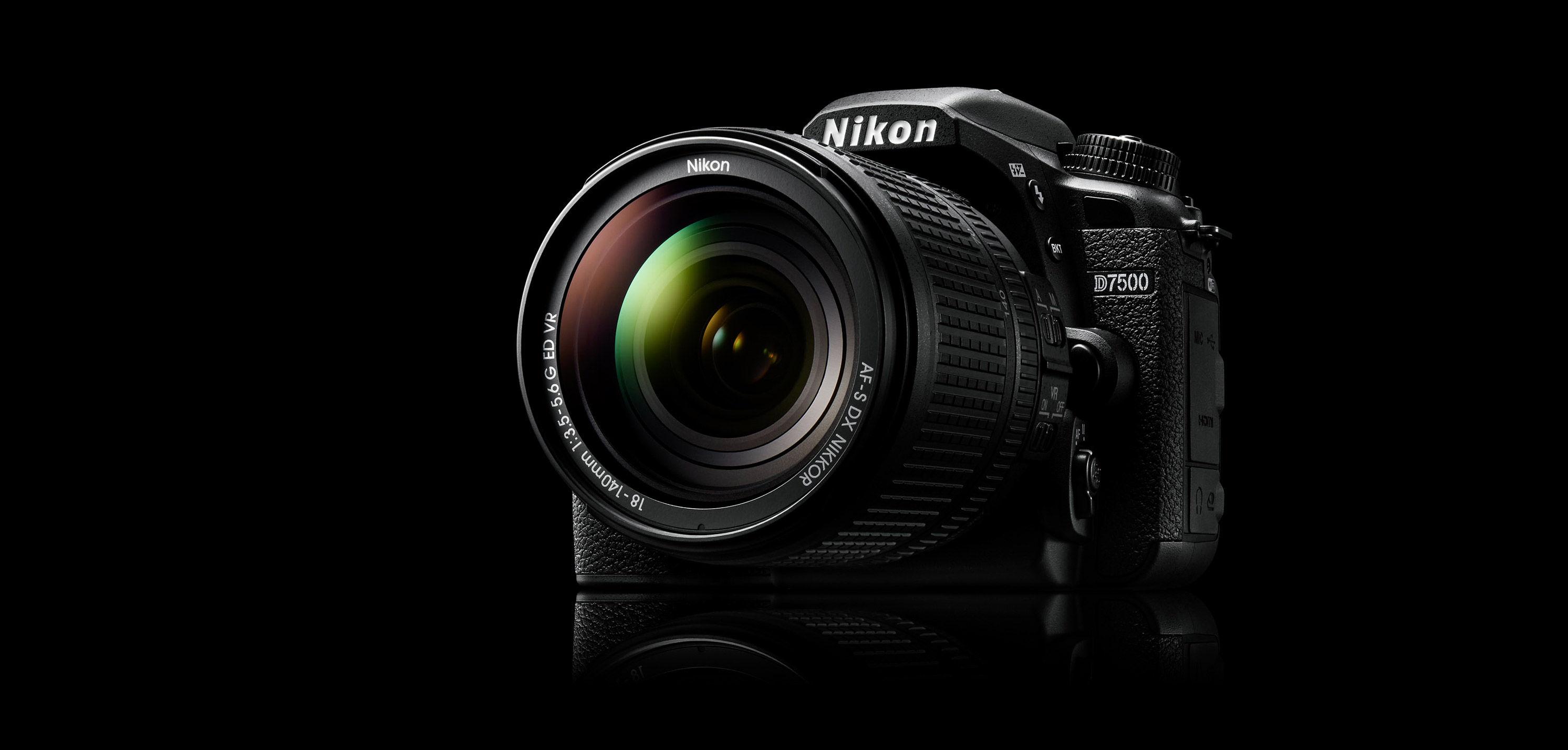 Nikon D7500 Body w/ AF-S DX NIKKOR 16-80mm VR Lens