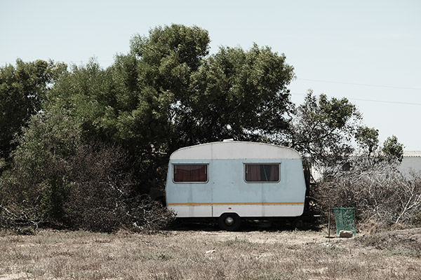 sample image of trailer in the wilderness