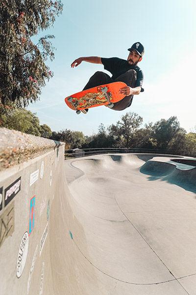 sample image of skateboarder