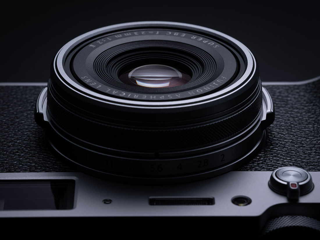 Product image of lens on camera