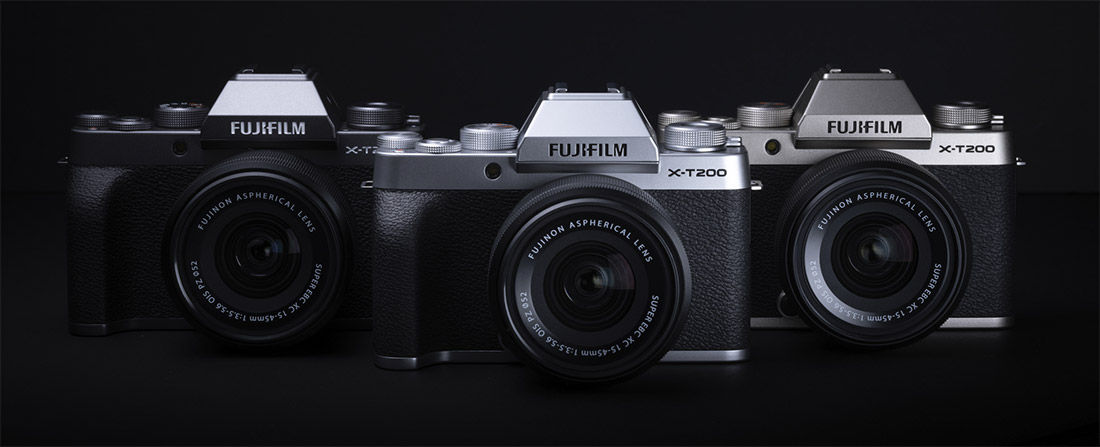 Product image of camera in three colours
