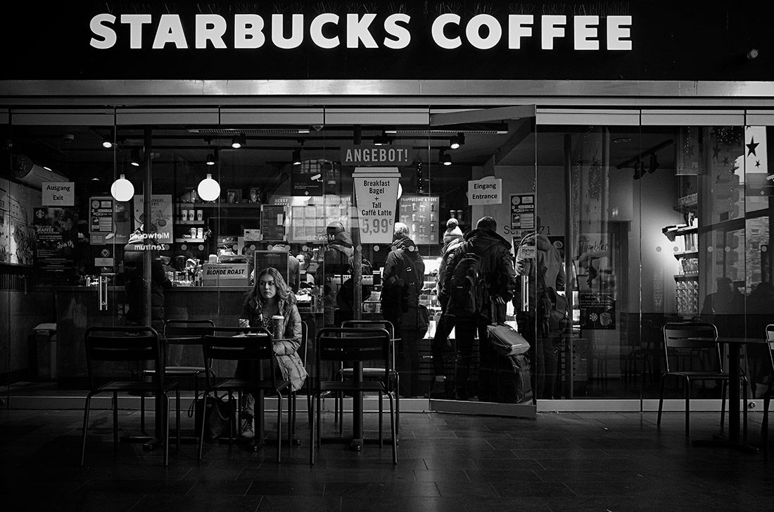 Sample image of coffee shop